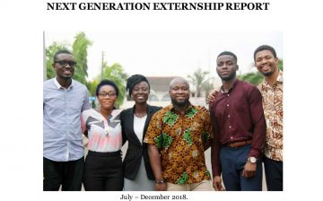 Internship Report by Nana Nyama Danso