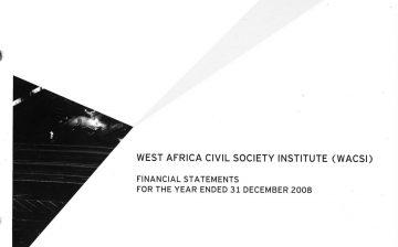 2008 Financial Report