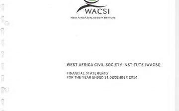 2014 Financial Report