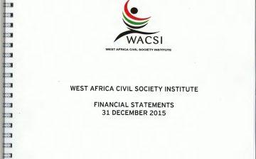 2015 Financial Report