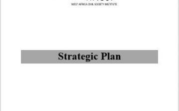 WACSI 2007 – 2012 Strategic Plan