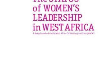 The Status of Women Leadership in West Africa