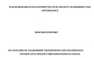 Research Report By Solomon Kofi Amoah