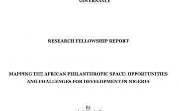 Research Fellowship Report by Abah Danladi