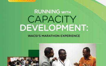 Running with Capacity Development WACSI's Marathon Experience-