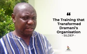 The Training that Transformed Dramani's Organisation – SILDEP