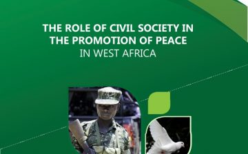 The Role of Civil Society in The Promotion of Peace in West Africa