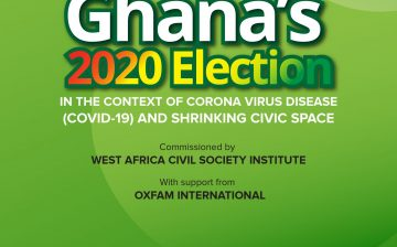 Ghana's 2020 Election in the Context of Coronavirus Disease (COVID-19) and Shrinking Civic Space