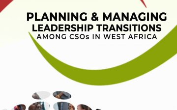 Planning and Managing Leadership Transitions among CSOs in West Africa