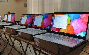 WACSI and TechSoup Donate 102 Laptops to 40CSOs from Seven Countries