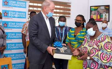STAR-Ghana Foundationand WACSIhost the Dutch Ambassadorto Ghana
