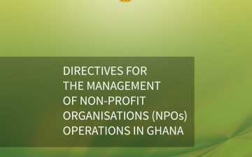 Directives for the Management of Non-Profit Organisations Operations in Ghana