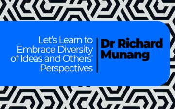 Let's Learn to Embrace Diversity of Ideas and Others' Perspectives