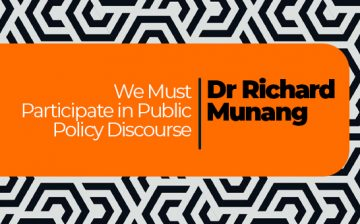 We Must Participate in Public Policy Discourse