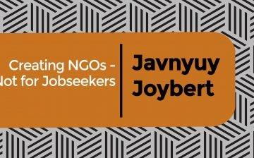 Creating NGOs – Not for Jobseekers