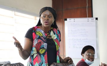 WACSI Concludes a 3 – day Training for the Newly Created Non-Profit Organisation's Secretariat in Accra, Ghana
